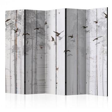 Paravan - Birds on Boards II [Room Dividers]
