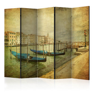 Paravan - Grand Canal, Venice (Vintage) II [Room Dividers]