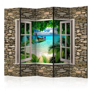 Paravan - Tropical Beach II [Room Dividers]