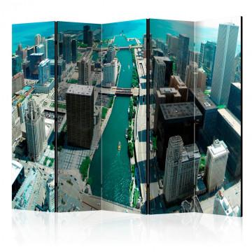 Paravan - Urban architecture of Chicago II [Room Dividers]