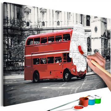 Pictatul pentru recreere - London Bus