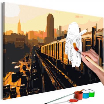 Pictatul pentru recreere - New York Subway