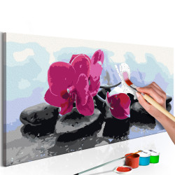Pictatul pentru recreere - Orchid With Zen Stones