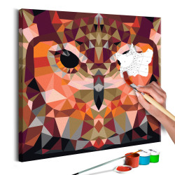 Pictatul pentru recreere - Owl (Geometrical)