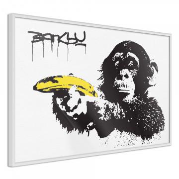 Poster - Banksy: Banana Gun I