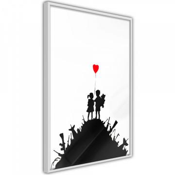 Poster - Banksy: Kids on Guns