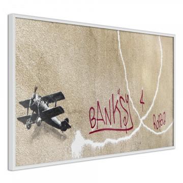 Poster - Banksy: Love Plane