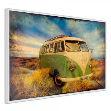Poster - Hippie Van I