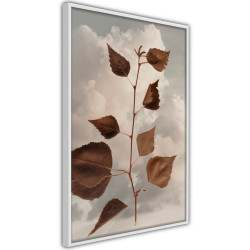Poster - Leaves in the Clouds