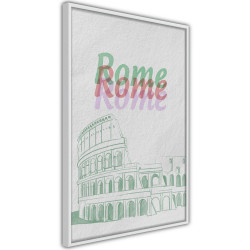 Poster - Pastel Rome