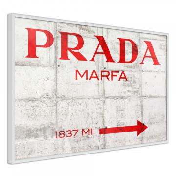 Poster - Prada (Red)