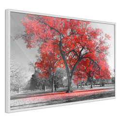 Poster - Red Tree