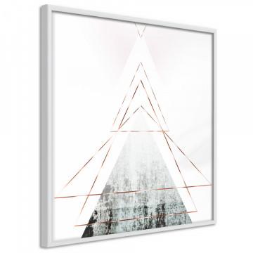 Poster - Snow-Capped Peak (Square)