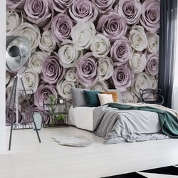 Roses Flowers Photo Wallpaper Wall Mural