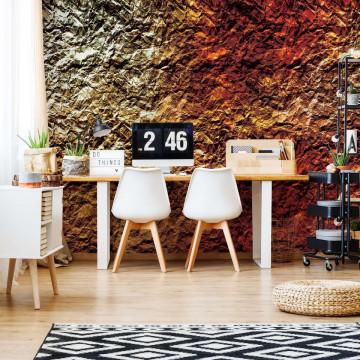 Rust Stone Texture Photo Wallpaper Wall Mural
