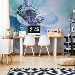 Shades Of Blue Photo Wallpaper Mural