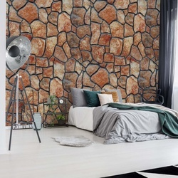 Stone Wall Photo Wallpaper Wall Mural