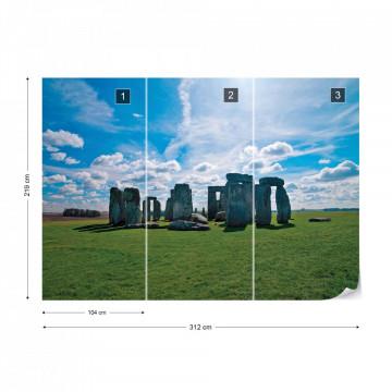 Stonehenge Nature Landscape Photo Wallpaper Wall Mural