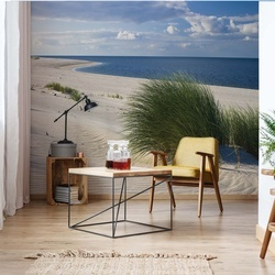Sylt Beach Sea Sand Coastal Photo Wallpaper Wall Mural