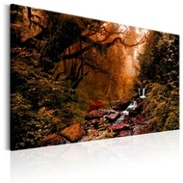 Tablou - Autumn Waterfall