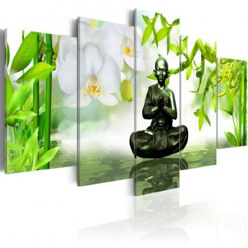 Tablou - Brass buddha