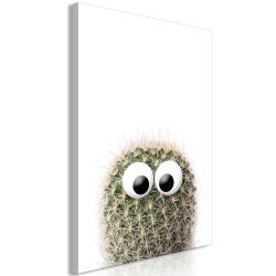 Tablou - Cactus With Eyes (1 Part) Vertical