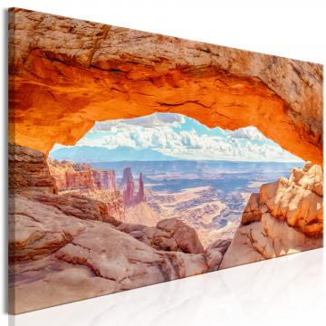 Tablou - Canyon in Utah (1 Part) Narrow