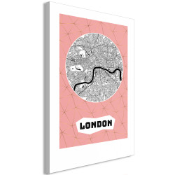 Tablou - Central London (1 Part) Vertical