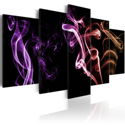 Tablou - Colored smoke - 5 pieces