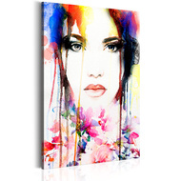 Tablou - Colourful Lady