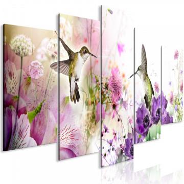 Tablou - Colourful Nature (5 Parts) Wide