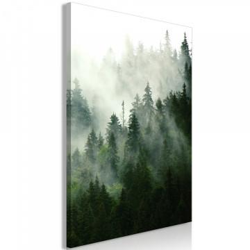 Tablou - Coniferous Forest (1 Part) Vertical