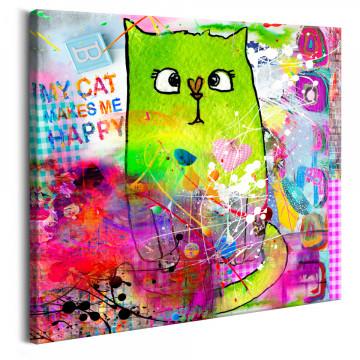 Tablou - Crazy Cat