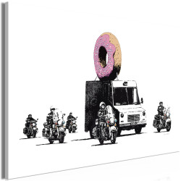 Tablou - Donut Police (1 Part) Wide