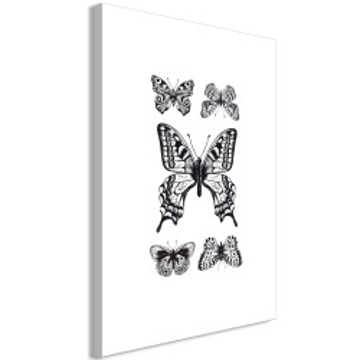 Tablou - Five Butterflies (1 Part) Vertical
