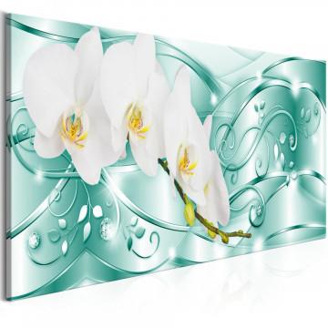 Tablou - Flowering (1 Part) Narrow Green