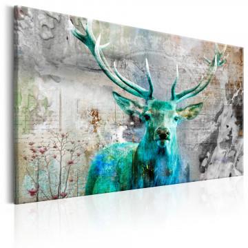 Tablou - Green Deer