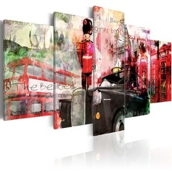Tablou - Memories from London - 5 pieces