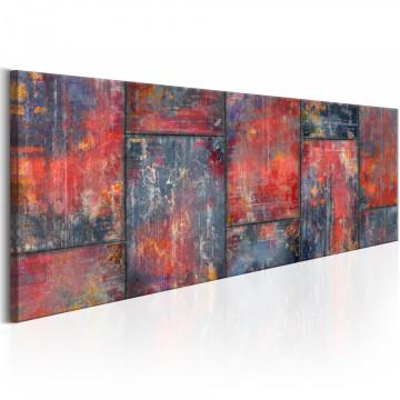 Tablou - Metal Mosaic: Red