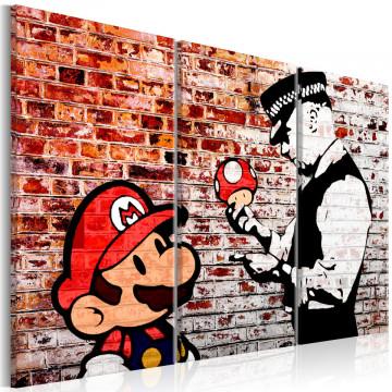 Tablou - Mural on Brick