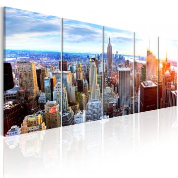 Tablou - New York: Sunrise