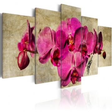 Tablou - Orchids on canvas - 5 pieces