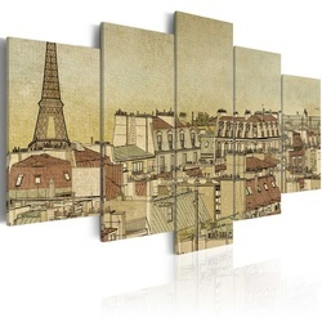 Tablou - Parisian past centuries