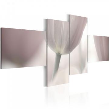 Tablou - Pastel colored tulip