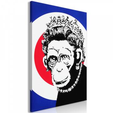Tablou - Queen of Monkeys (1 Part) Vertical