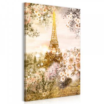 Tablou - Summer in Paris (1 Part) Vertical