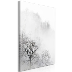 Tablou - Trees In The Fog (1 Part) Vertical
