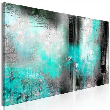 Tablou - Turquoise Fog (1 Part) Narrow
