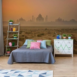 Taj Mahal At Dusk Photo Wallpaper Mural