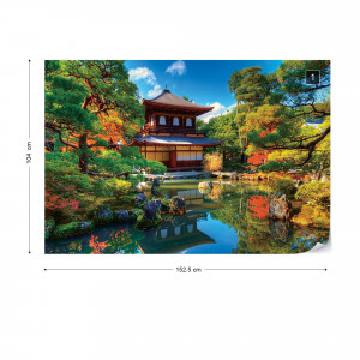 Temple Zen Japan Nature Garden Photo Wallpaper Wall Mural